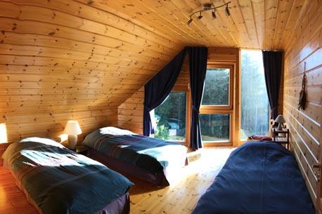 Chambre gite Séquoia au nid de la Bergeronnette