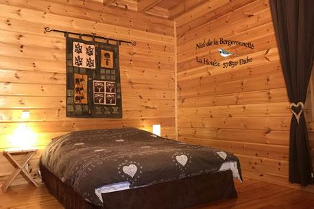 Chambre gite Séquoia au nid de la Bergeronnette au pays de Phalsbourg - Dabo