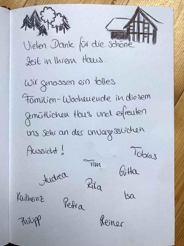 Deutsche Bewertung des Ferienhauses Nid de la Bergeronnette zwischen Elsass und Moselle in Frankreich